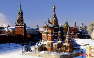World___Russia_Beautiful_winter_morning_in_moscow_048359_